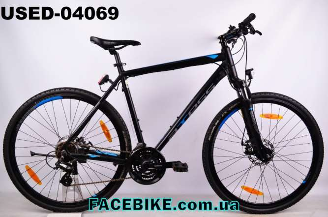 БУ Гибридный велосипед Axess-Гарантия,Документы-Большой выбор!