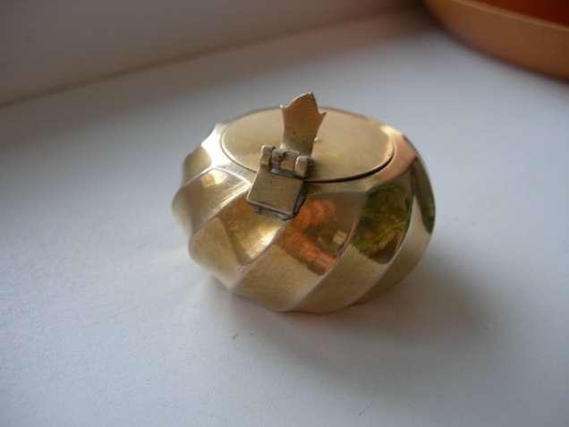 Пепельница, карманная, бронзовая, бронза, Германия