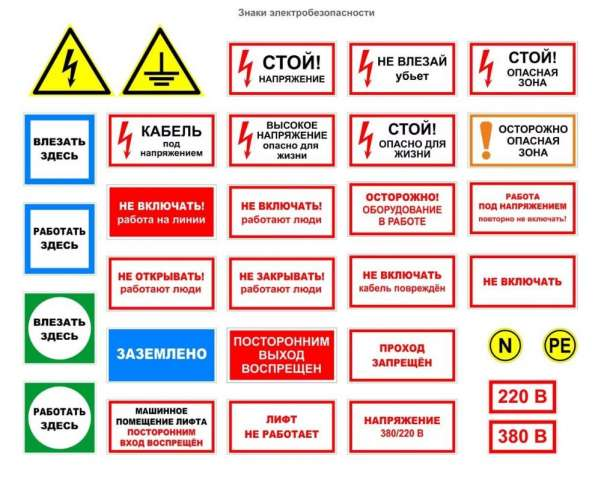 Знаки безопасности, дорожные, плакаты