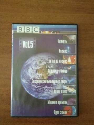 DVD-диск BBC документальные передачи и сериалы о космосе.