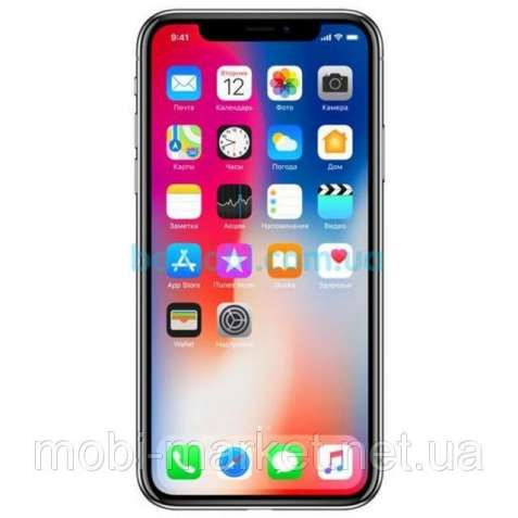 iPhone X 1 сим,5,5 дюйма,4 ядра,16 Гб,13 Мп.Новинка.