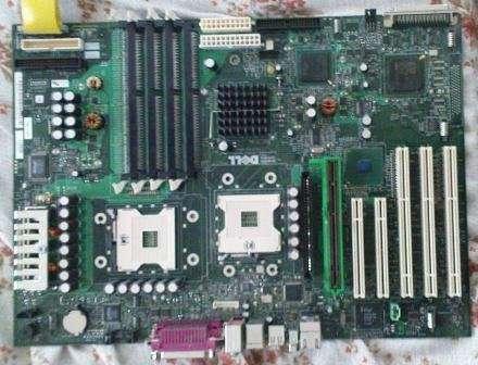 Продам двопроцессорную материнскую плату Dell