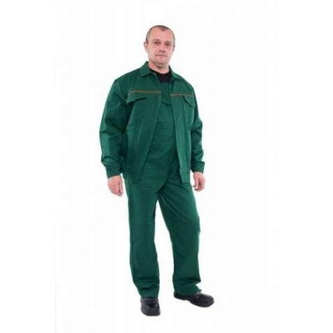Костюм рабочий зеленого цвета