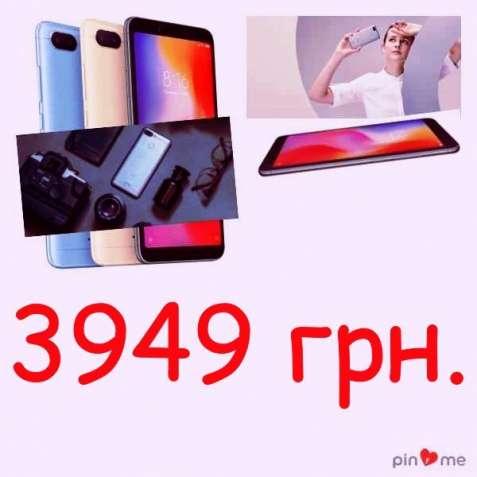 Xiaomi Redmi 6 4/64Gb (Black) Официальная международная версия