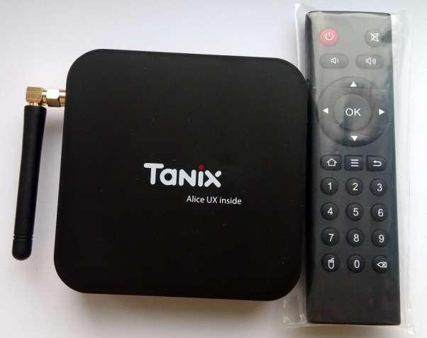 Tv Box Tanix TX6 (H6, 4/32GB, Android 9, SPDIF, WiFi 5G, bluetooth)
