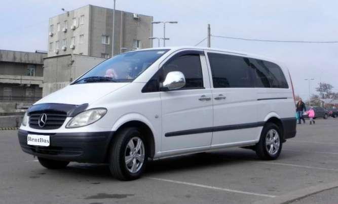 Аренда Mercedes Vito Киев с водителем. ( 7 -8 мест )