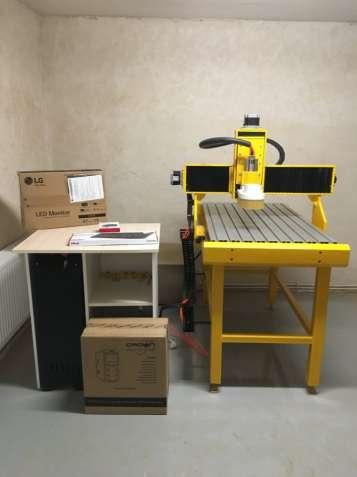 Новый промышленный фрезерный ЧПУ станок CNC-6090