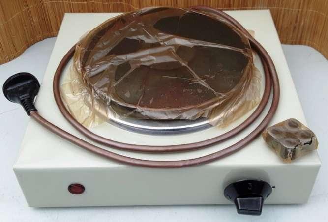 Электроплитка «Заря» настольная дисковая одноконфорочная 1991г. /новая