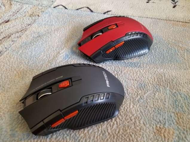 Мышь беспроводная Fan Tech 3200 dpi, 6 кнопок, игровая.