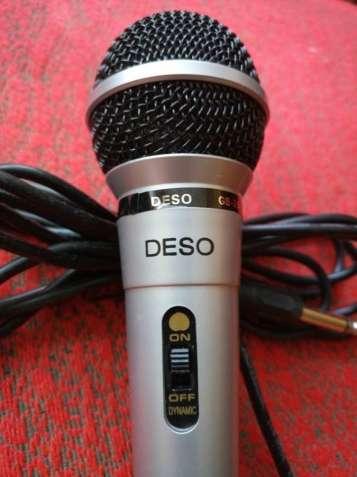 Микрофоны: DESO GS-35; за 2 шт! (новый)