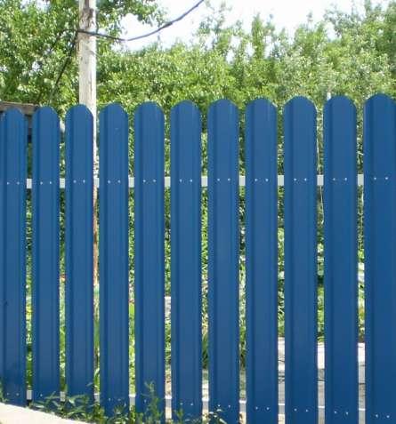 Металлический Штакетный Забор