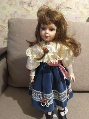 Кукла коллекционная,английская