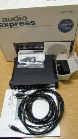 Звуковая карта Motu Audio Express гибрид USB FireWire аудио интерфейс