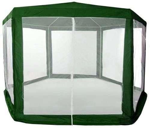 Палатка садовый павильон шатер с москитной сеткой