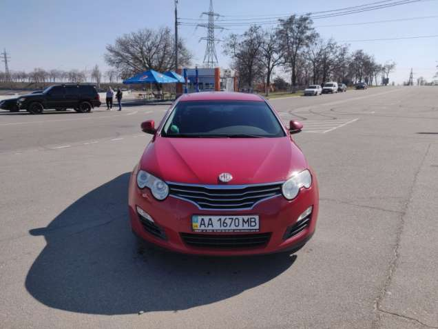 Продам MG 550 1.8 MT 2012г 131000 Red