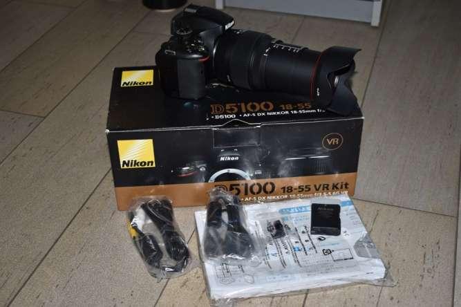 Фотоаппарат Nikon D5100 (Sigma AF 18-200mm f/3.5-6.3 DC OS II )