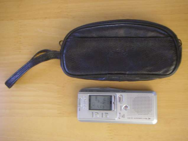 Ручной цифровой диктофон Sony IC Recorder ICD-B16,16 МБ, 8 ч.15 мин.