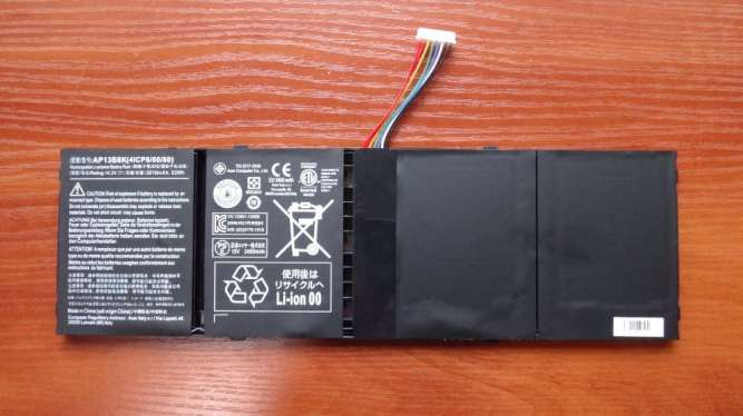 Оригинальный аккумулятор / батарея Acer AP13B3K Aspire V5-572P 53Wh