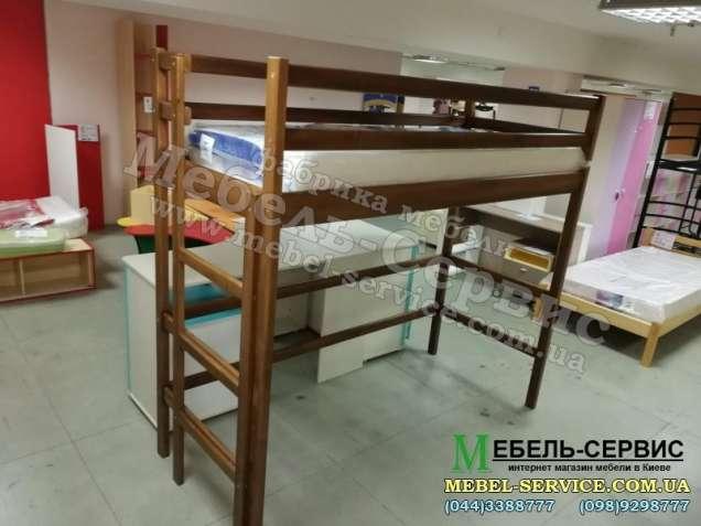 Двухъярусная кровать Чердак из дерева