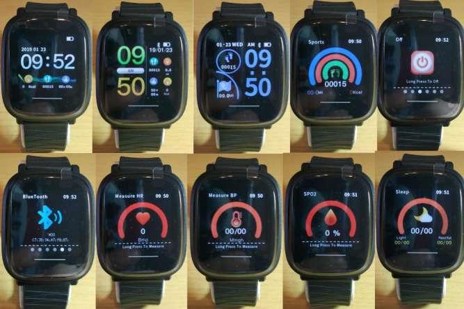 Смарт часы(фитнес браслет)Bakeey M30(давление,пульс) - изображение 2