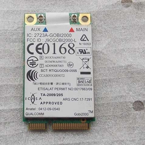 3G/GPS модем Qualcomm Gobi2000