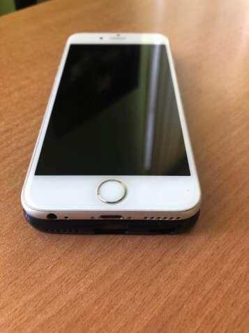 iPhone 6, 64GB, Silver, Never Lock, Отлияное состояние