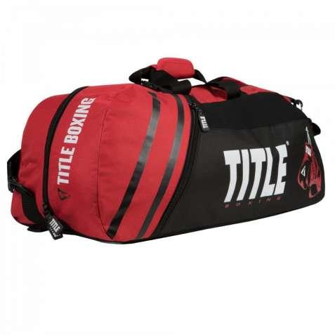 Сумка - рюкзак TITLE WORLD CHAMPION SPORT BAG/BACKPACK 2.0 RED