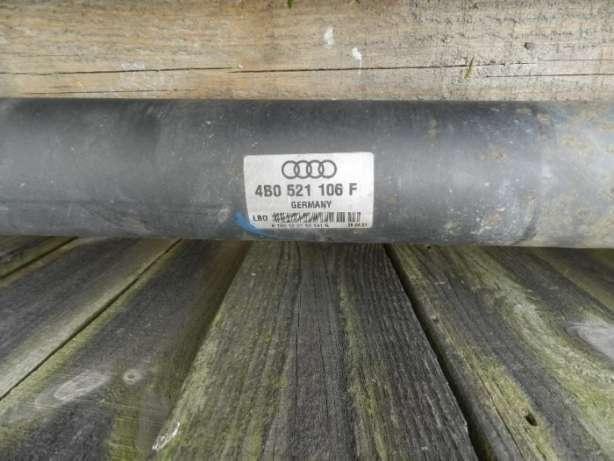 Кардан, карданный вал, Audi A6 C5 ауди разборка а6с5