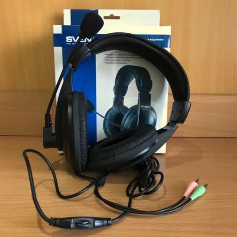 Мультимедийные стереонаушники с микрофоном SVEN AP-860MV