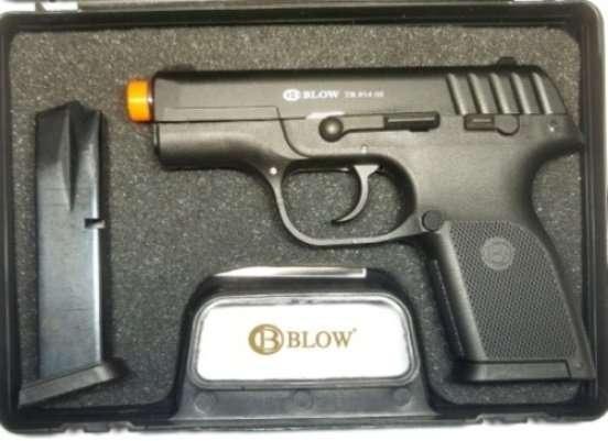 Стартовый пистолет Blow 914 02 магазин в подарок