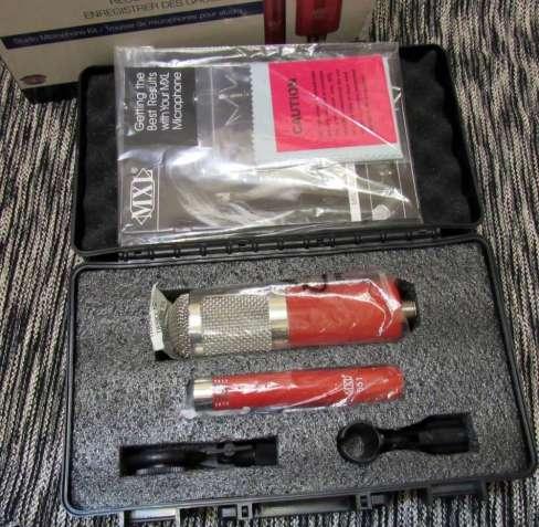 Комплект! Конденсаторный микрофон Marshall MXL 550 + MXL 551