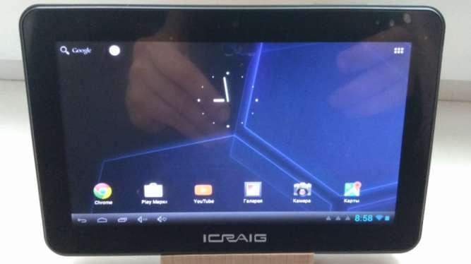 Продам планшет Craig CMP749! 7''1GB\8GB ROM! Android 4.1 РусУкр! WiFi!