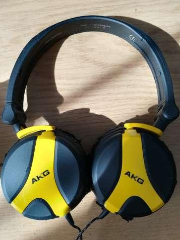 Наушники AKG K518 LE Yellow