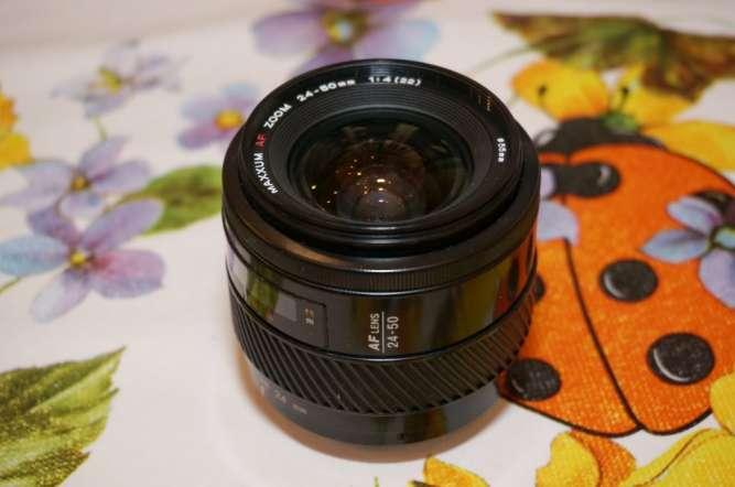 Объектив Minolta Maxxum AF 24-50 f/4. Sony A-mount.