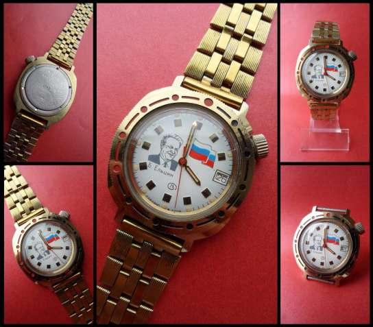 …лихие 90-е. ВОСТОК-2414А часы сделано в СССР Ельцин ПОСЛЕ «коронации»