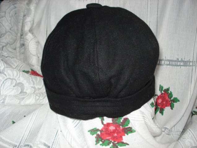 Супер кепка черного цвета,р56-57см.шерсть,пол-р,вискоза,эластан.