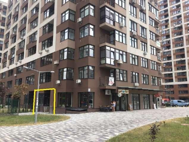 Продажа фасадного магазина 43м2 в ЖК Варшавский Квартал