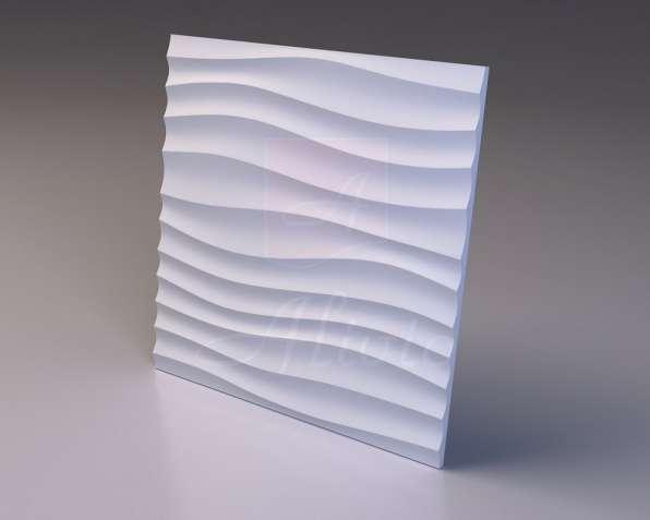 Гипсовые 3D панели Alivio серия Briz от производителя