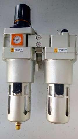 Фільтр-регулятор повітря для компресора, прохід G1, 6400 л/хв. - зображення 3