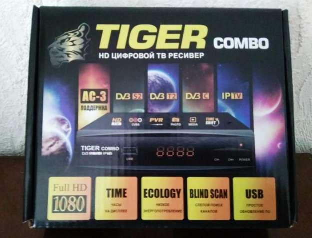 Цифровой спутниковый-эфирный ресивер TIGER-COMBO