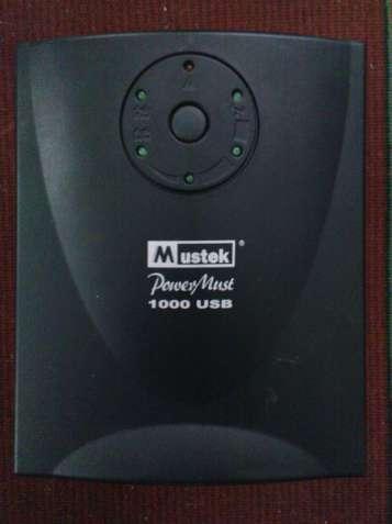 Продам источник бесперебойного питания Mustek PowerMust 1000 USB