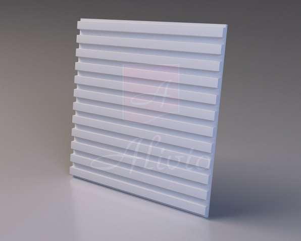 Гипсовые 3D панели Alivio серия Rails от производителя