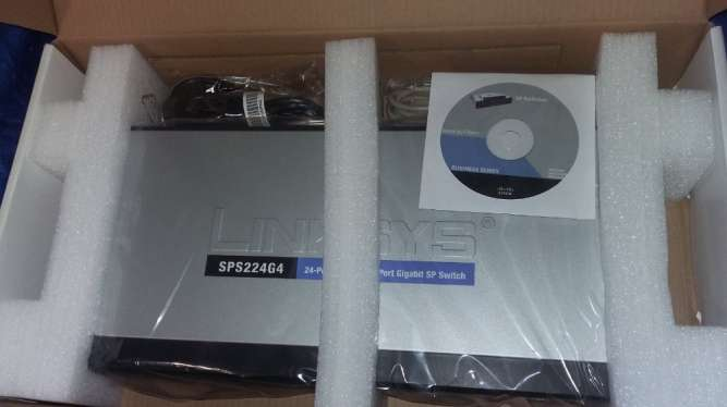 Коммутатор Linksys (Cisco) SPS224G4