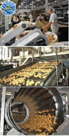 Рабочие на предприятие по производству чипсов в Чехии. GoWork