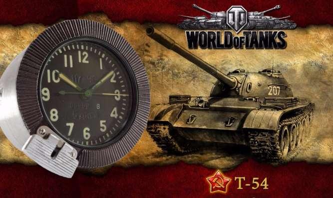 World of Tanks – Часы ТАНКОВЫЕ, механика, сделано в СССР 60-х.
