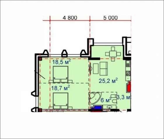 Предлагается к продаже светлая, уютная 2-х комнатная квартира с прекра