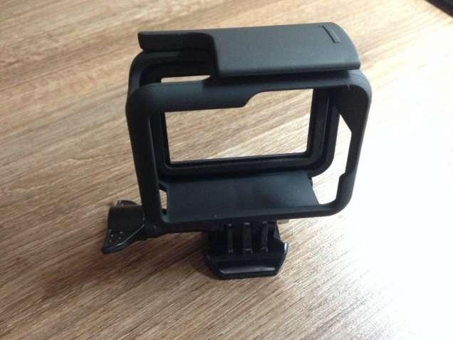 Рамка защитная черная матовая для Gopro 5,6,7 (крепление для GoPro)