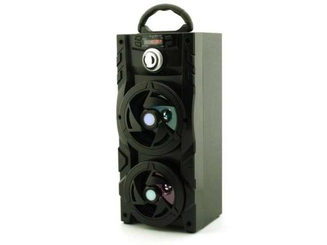 Cтерео колонка портативная с Bluetooth KB-510BT USB, FM, караоке