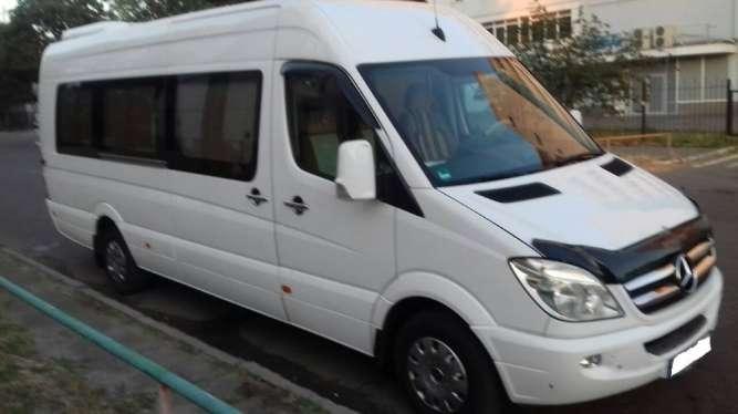 Такси микроавтобус Киев недорого Mercedes Sprinter NEW