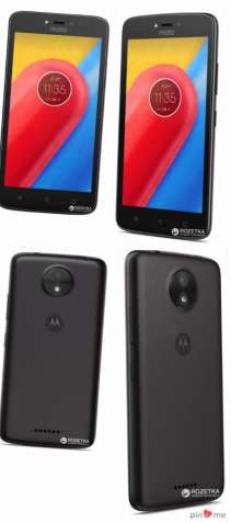 Motorola Moto C (XT1750) Black  Чёрный Чорний New Новый Новий
